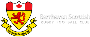 Barrhaven Scottish Rugby Football Club Logo with Text