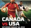 International Rugby: Canada vs U.S.A
