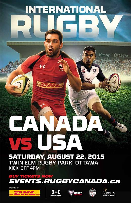 International Rugby: Canada vs U.S.A