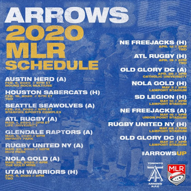 Toronto Arrows – Grassroots Assistance Program
