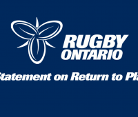 Rugby Canada and Rugby Ontario Statement on Return to Play